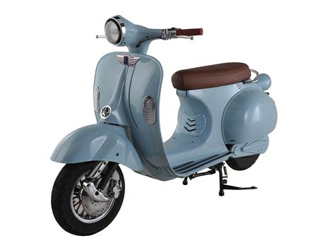 scooter electrique scooter roma sky blue