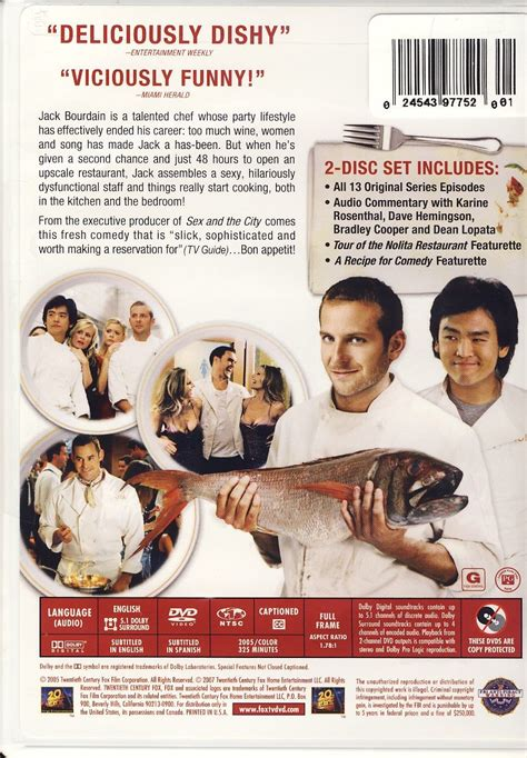 Kitchen Confidential Overview by Kitchen Confidential The Complete Series On Dvd