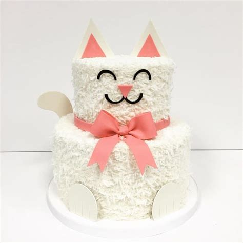 Yesterday was my birthday (24) and my friend verity made me this beauty of a cake. 30 Cute Cat Birthday Party Ideas - Pretty My Party - Party Ideas