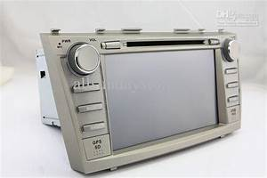 8 2 Din Car Dvd Player Gps Navigation For Toyota Camry