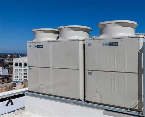 Mitsubishi Cooling Systems by City Multi Vrf Heating And Cooling Systems Hedrick