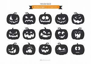 Kürbis Schnitzen Vorlage : halloween schnitzvorlagen f r gruselk rbisse http ~ Lizthompson.info Haus und Dekorationen