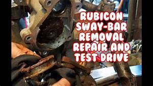 Jeep Wrangler Rubicon Mopar Sway Bar Disconnect Removal