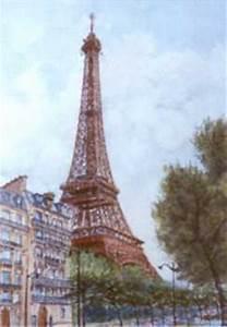 Peinture De Paris Poissy : georges jamet peinture de paris la tour eiffel ~ Premium-room.com Idées de Décoration