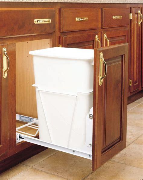 Rev A Shelf Garbage by Rev A Shelf Rv 12pb White Rv Series 35 Quart Pull Out