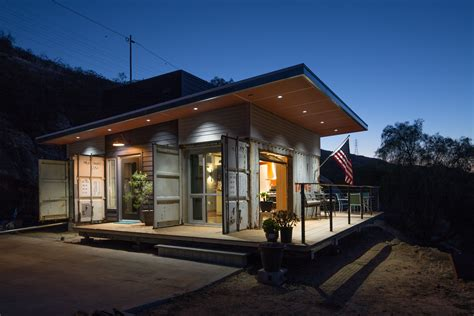 A Rustic Shipping Container Home Built On A Shoestring