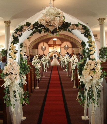 church wedding decorations church decorations we offer the most church