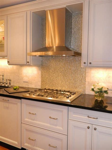 Tiled Kitchen Backsplash   HGTV