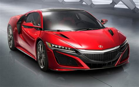 2016 honda nsx debuts at detroit video