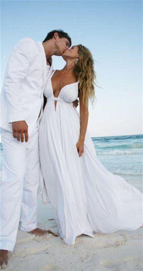 40 elegant beach wedding dresses ideas for perfect wedding