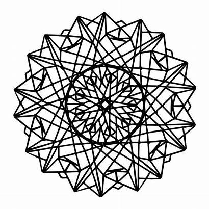 Mandala Geometric Coloring Patterns Babadoodle Infinity Mandalas