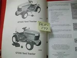 John Deere Technical Manual Gt225 Gt235 Lawn And Garden