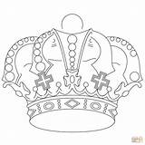 Crown Coloring Pages Royal Royals Printable Crowns Kansas King Jewels Adults Drawing Supercoloring Getdrawings Princess Coloringhome Whitesbelfast Getcolorings sketch template