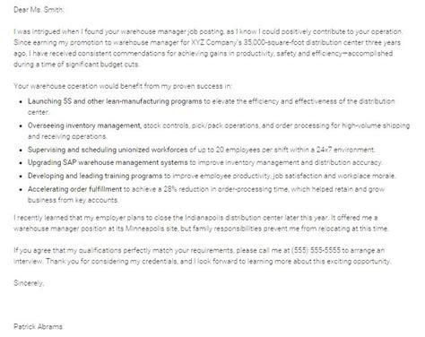 Packer Cover Letter by Warehouse Supervisor Resume Packer Description For