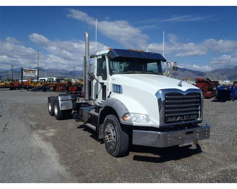 2011 mack granite gu813 day cab truck for sale salt lake