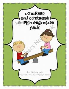 Compare  U0026 Contrast Graphic Organizer Pack From Whos On