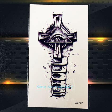 Cool Cross Tattoo Reviews  Online Shopping Cool Cross