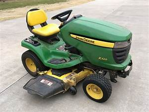 John Deere X320 Lawn And Garden Tractor Service Manual