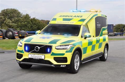 provkoerning av volvo xc ambulans teknikens vaerld