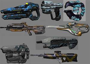 Halo 4 weapons | Halo 4 Specialization Weapon Skins ...