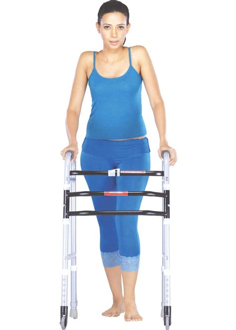 walker elderly walkers support base walking vissco standing give provides larger bariatric 1410 rs extra user tag stroke castor wheelchairindia