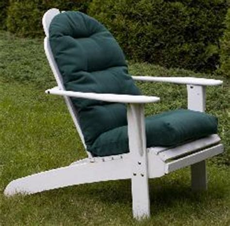 adirondack forest green outdoor chair cushion free