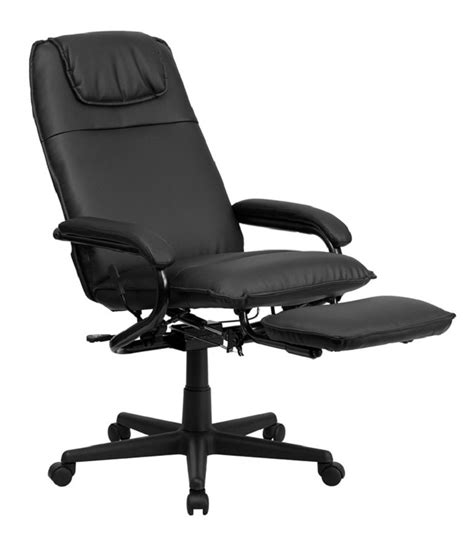 reclining office chair with footrest cool best living room