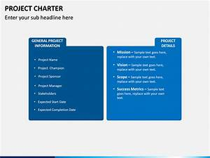 Project Charter Template Project Charter Powerpoint Template Sketchbubble