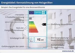 Negative Energie Im Haus : energielabel kennzeichnung von heizger ten asue ~ Frokenaadalensverden.com Haus und Dekorationen