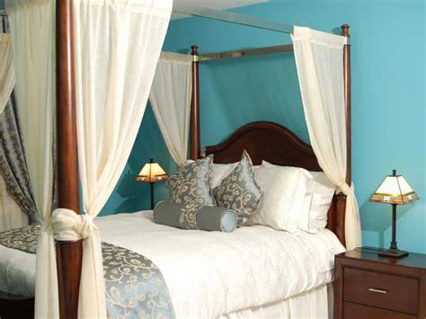 canopy bed drapery ideas canopy bed ideas hgtv