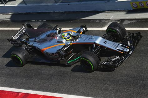 A Positive Week For Force India Paddock Eye