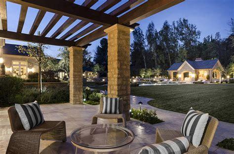 luxury patio garden homemydesign