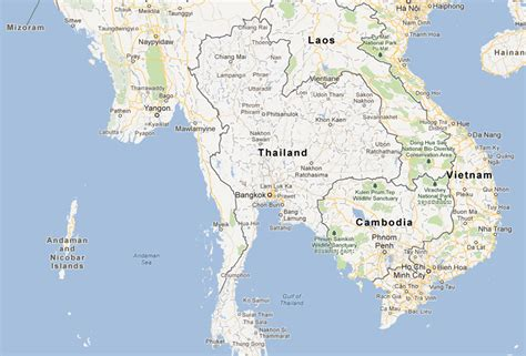 The Moken People of the Andaman Sea - Location