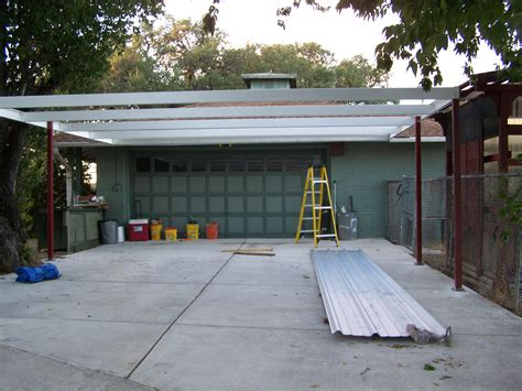 lean to carport simple lean to carport 21 x22 san antonio