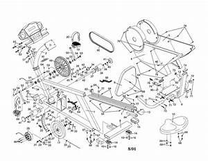 Nordictrack Model 831298960 Cycle Genuine Parts