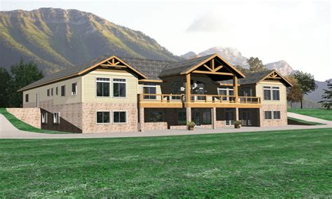 luxury lodge style home plans luxury home plans lodge