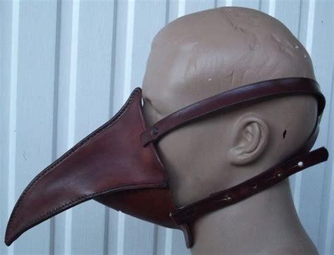 plague doctor  mask mk ii  mask   cut