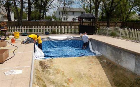 piscine liner ou carrelage prix d un liner de piscine