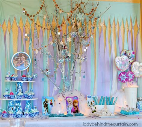 frozen princess birthday party