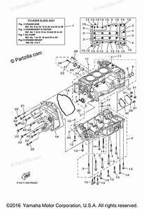 Yamaha Waverunner 2017 Oem Parts Diagram For Crankcase