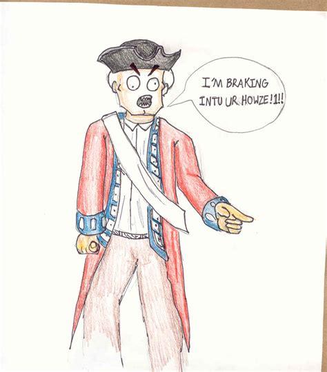 redcoat cartoon  soulphat  deviantart