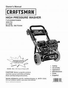 Craftsman 580 753000 User Manual