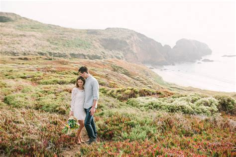 marin headlands engagement session  film