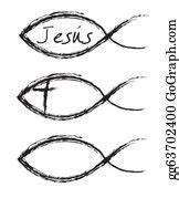 Follow Jesus Clip Art - Royalty Free - GoGraph