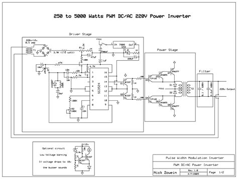Inverter With Pwm Pulse Width Modulator Power