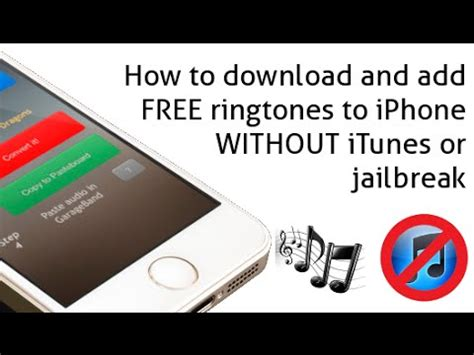 how to get on iphone without itunes how to and add free ringtones to iphone without