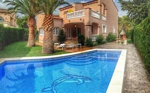 maison bord de mer espagne amazing maison bord de mer With beautiful maison avec piscine a louer en espagne 7 location vacances bord de mer costa dorada espagne ab villa