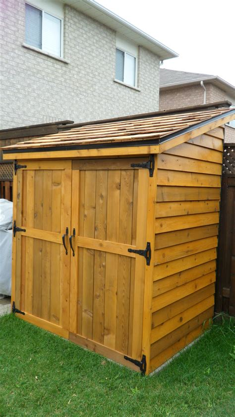 The Cedar Shed - white cedar shed diy projects
