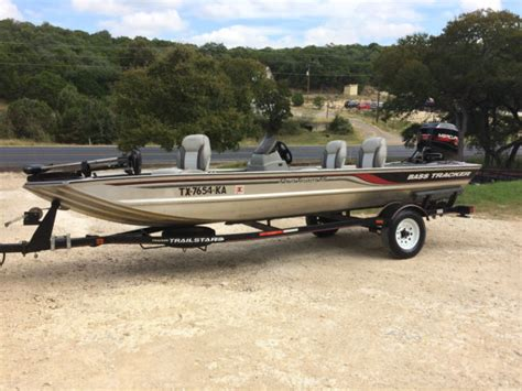 Aluminum Fishing Boats For Sale Bass Pro by 1997 Tracker Aluminum Bass Tracker Fishing Boat With 40