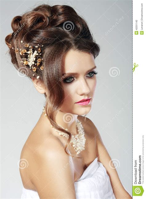 bridal fashion woman stock photo image